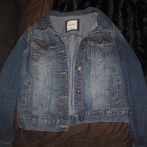 Mud women's jean jacket
